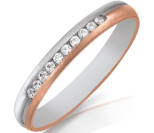 Alliance-mariage-or-rose-or-blanc-diamants